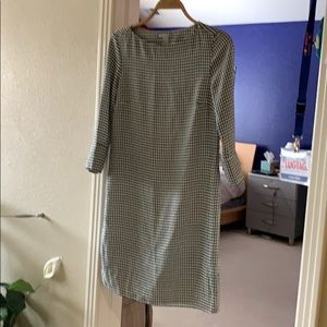 NWT H & M houndstooth pattern dress